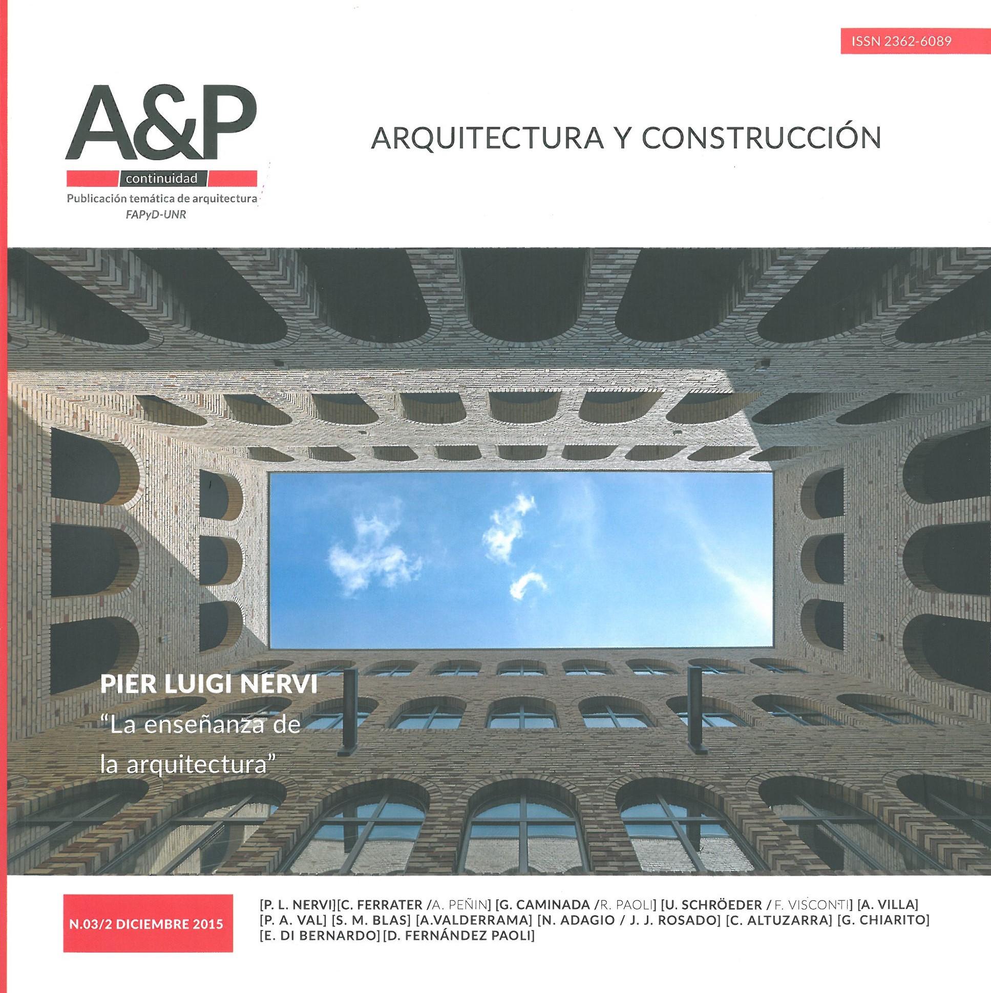 A p arquitectura y construccion architetti ricci val for Arquitectura y construccion